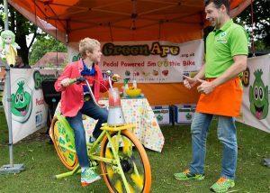 GreenApe smoothie bike